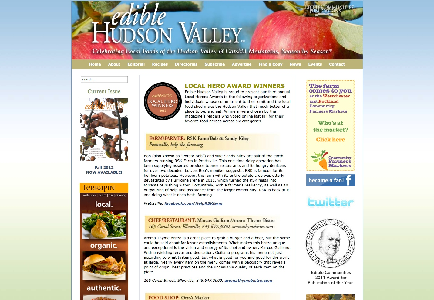 Edible Hudson Valley